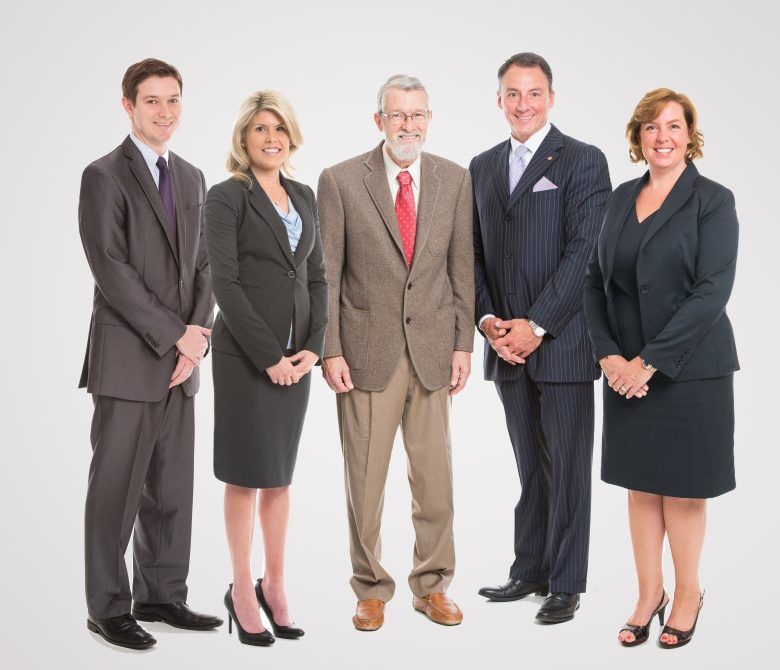 The Jacksonville, Florida divorce attorneys and family law staff at Fletcher and Phillips pictured.