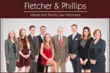 Fletcher and Phillips staff below logo.