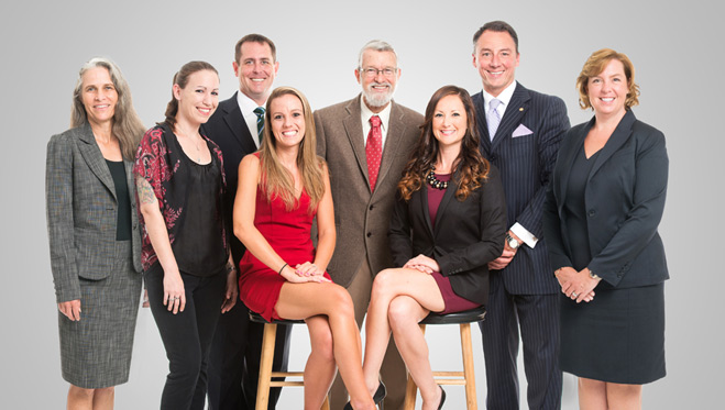 Image of staff with the divorce law firm at Fletcher and Phillips in Jacksonville, FL